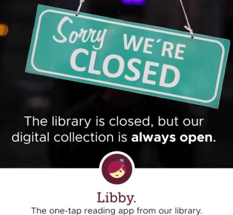 All library branches are closed