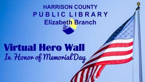 Elizabeth branch Virtual Hero Wall
