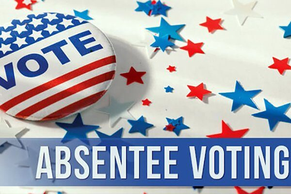 Request your absentee ballot for the 2020 General Election
